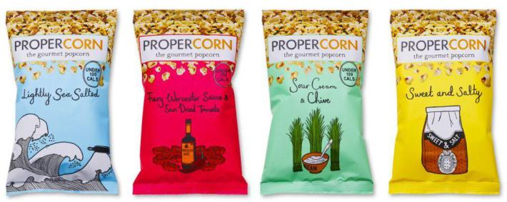 The Gentrification of Popcorn: the Notting Hill of the Snack World.
